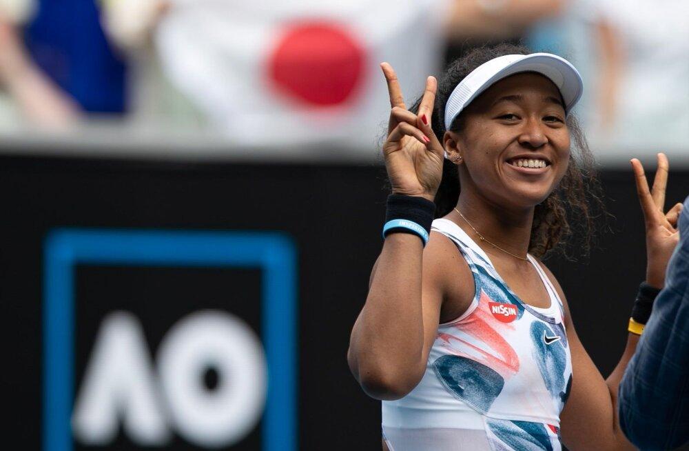 Tennisetäht Naomi Osaka tõusis läbi aegade enimteenivamaks naissportlaseks