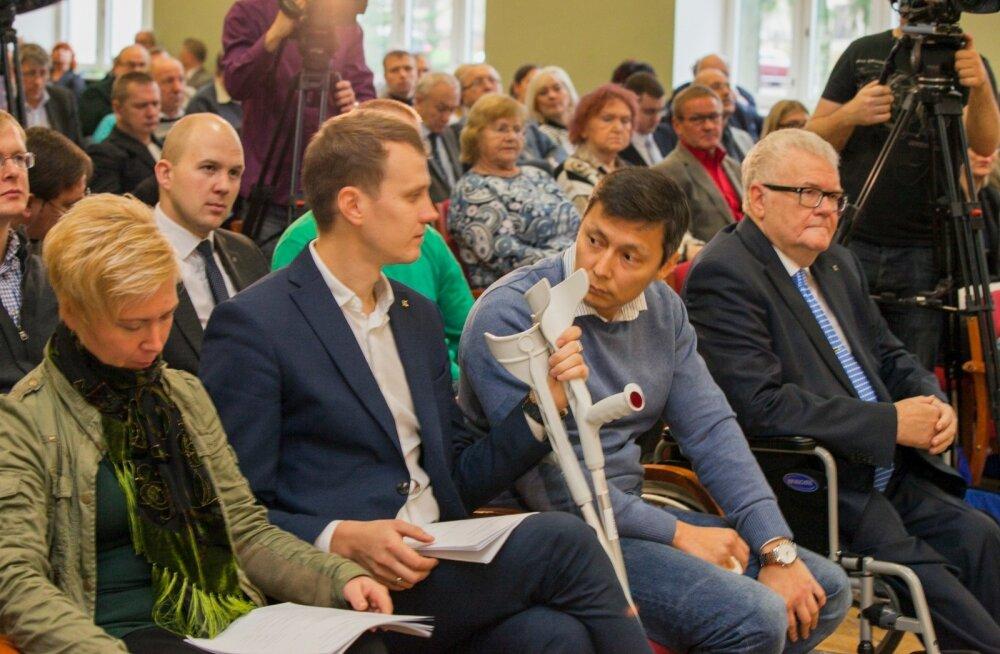 Eesti Keskerakonna volikogu Põltsamaal