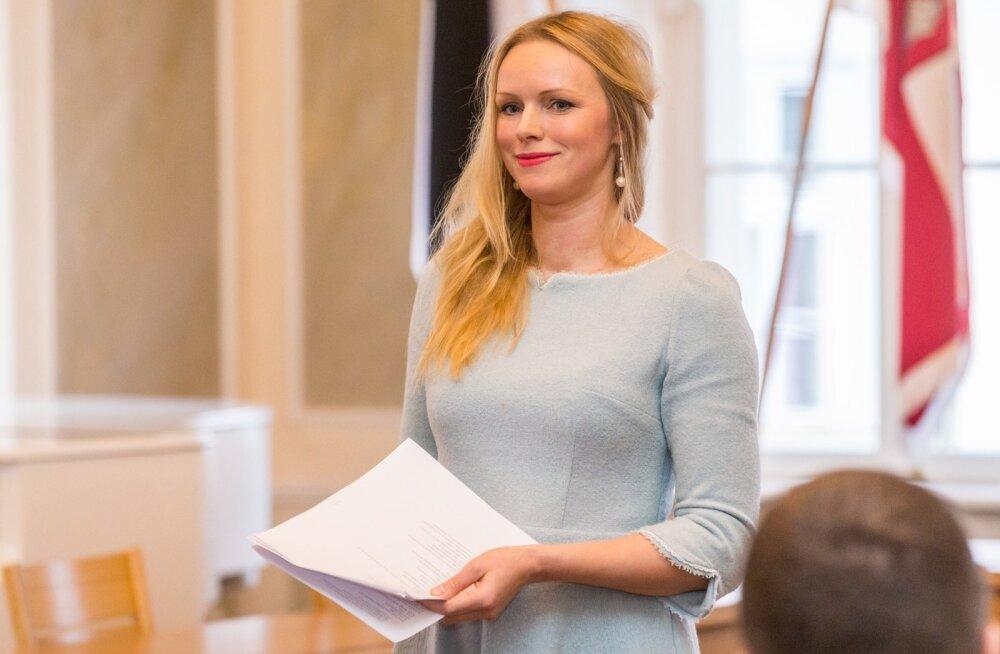 Kristiina Ehin pälvis Tartu linnakirjaniku tiitli