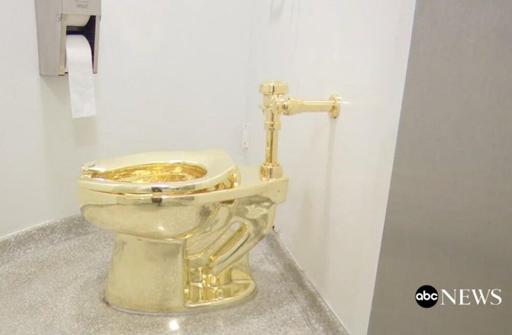 On alles asi, mida varastada! Winston Churchilli sünnikodust vehiti sisse kuldne vetsupott, millel väärtust üle miljoni