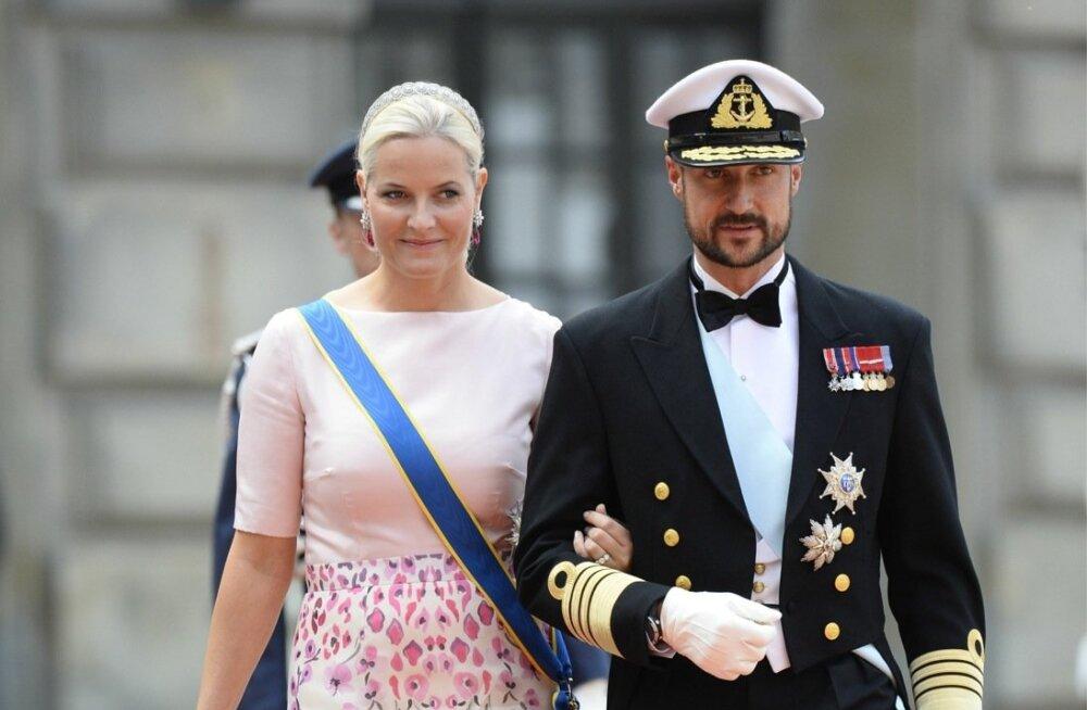 Mette-Marit ja kroonprints Haakon