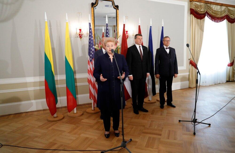 Eestisse tuleb riigivisiidile Leedu Vabariigi president Dalia Grybauskaitė