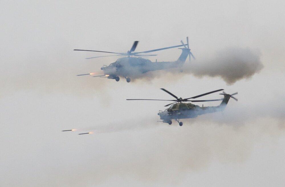 Venemaa teatas oma ajaloo suurima sõjaväeõppuse korraldamisest