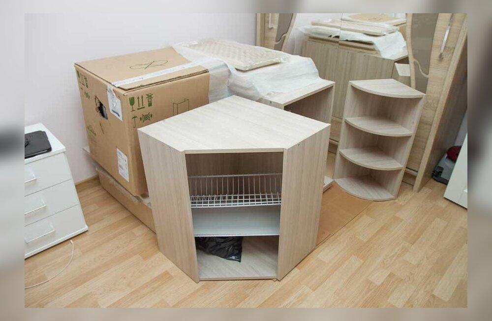 Неосуществимый проект: магазин прислал кухонный гарнитур из некомплектных деталей