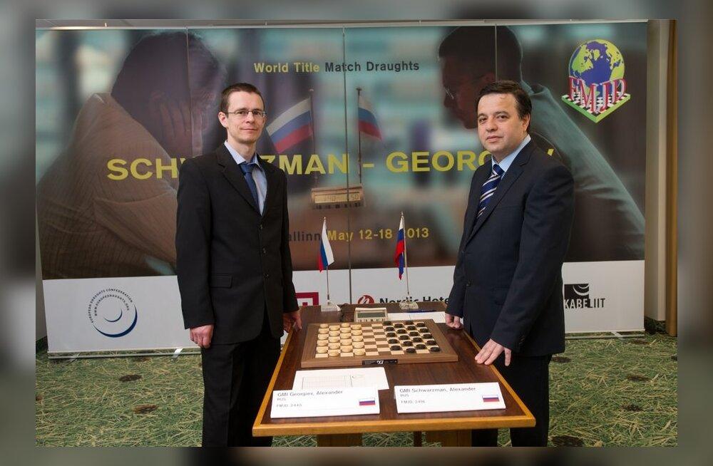 Kabe MM-matši tallinnas võitis tiitlikaitsja Aleksander Georgiev