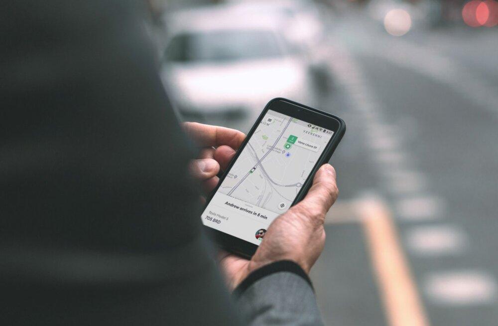 Bolt: harvadel juhtudel võib rakenduse versioon taksohinda mõjutada