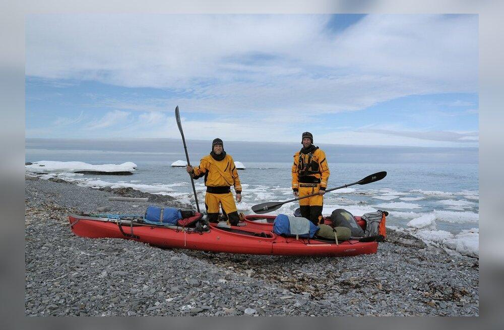 Polaarseikleja Timo Palo: jääkaru küttis meid nagu hülgeid