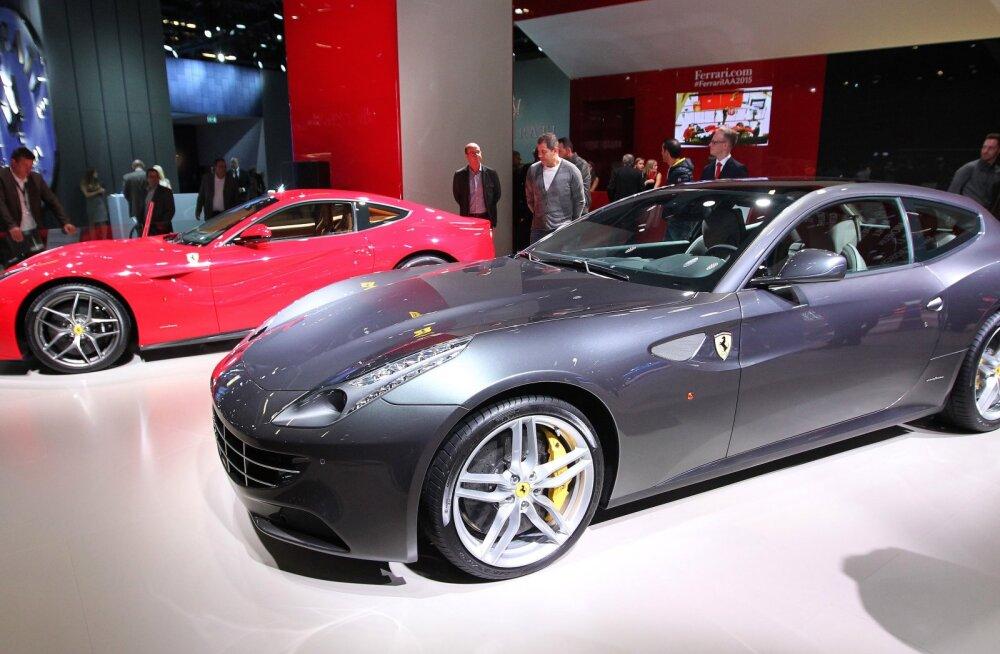 Ka Ferrari teeb praaki