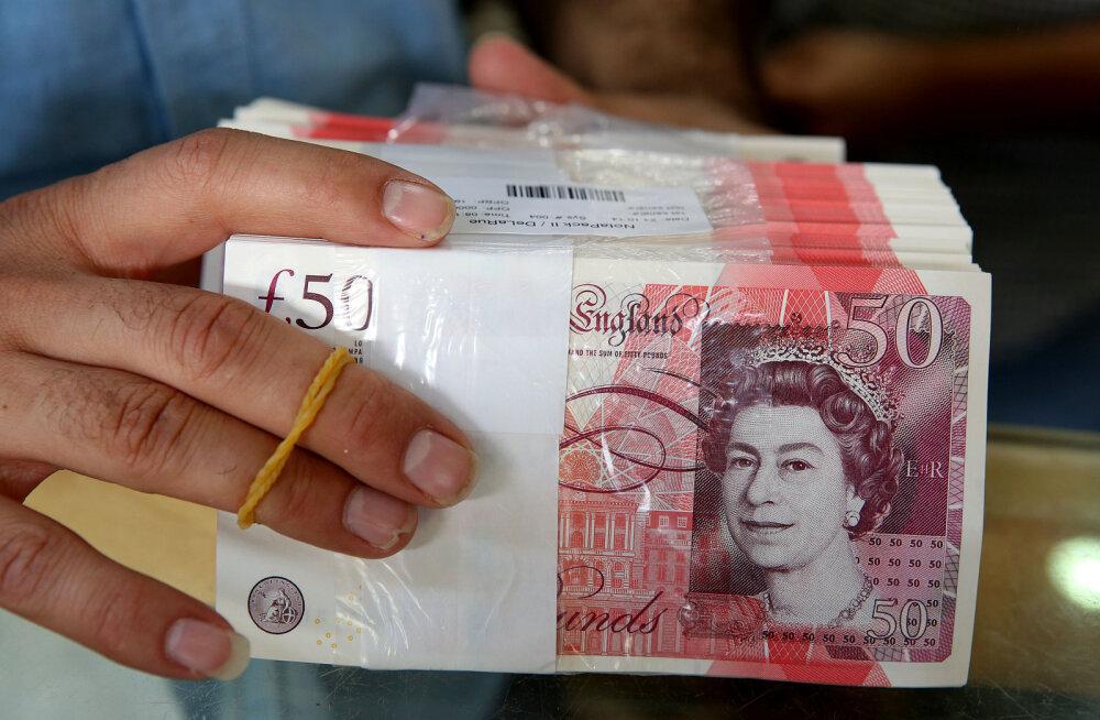 Kurioosum? Briti naela väärtus võib tänu brexitile tänavu hoopis tõusma hakata