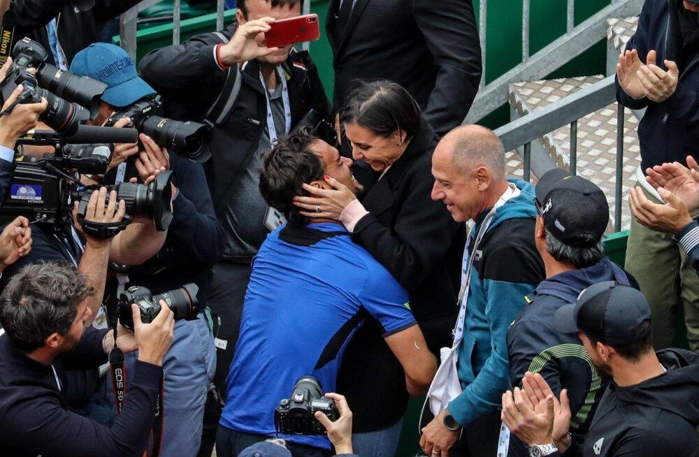 Itaalia tenniseäss Fabio Fognini paljastas: seksime Flaviaga 12-15 korda nädalas
