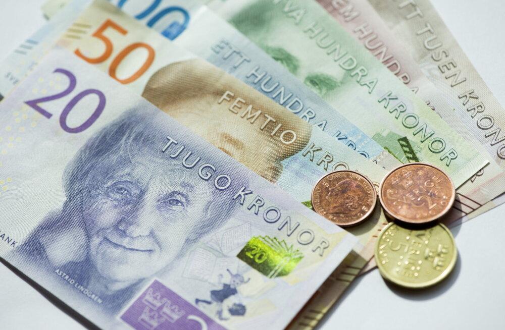 Rootsile hakkavad alles 2008. aasta kriisi mõjud kohale jõudma. Rootsi kroon on kümne aasta odavaim