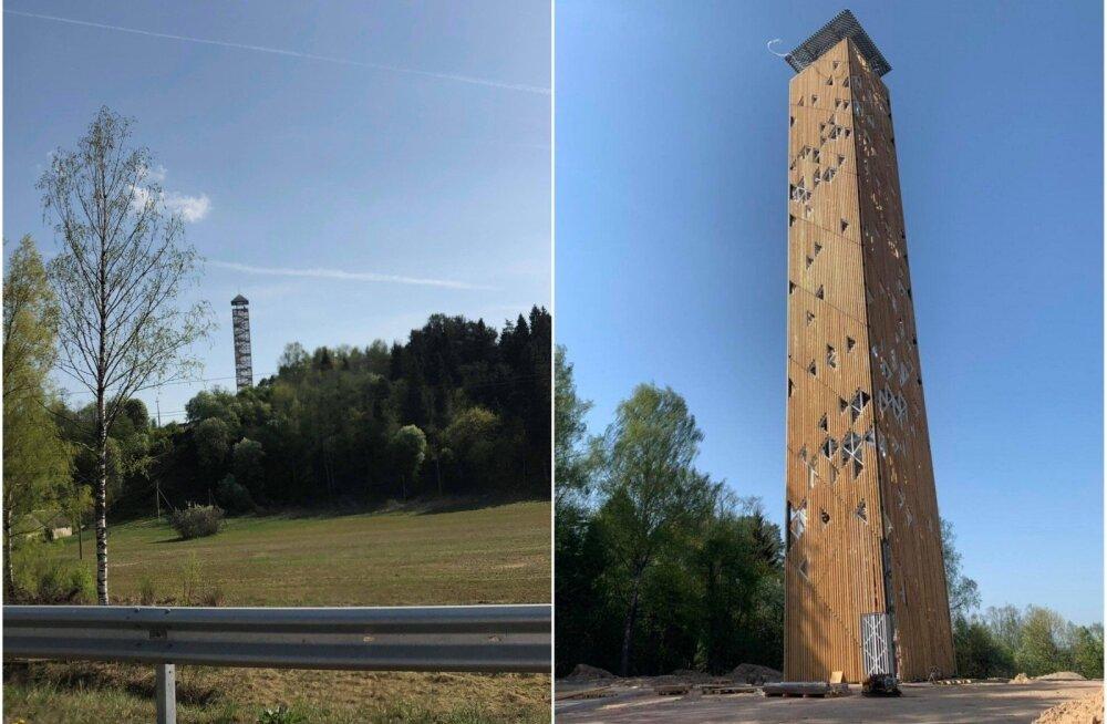 В Литве открывается самая высокая в стране обзорная башня