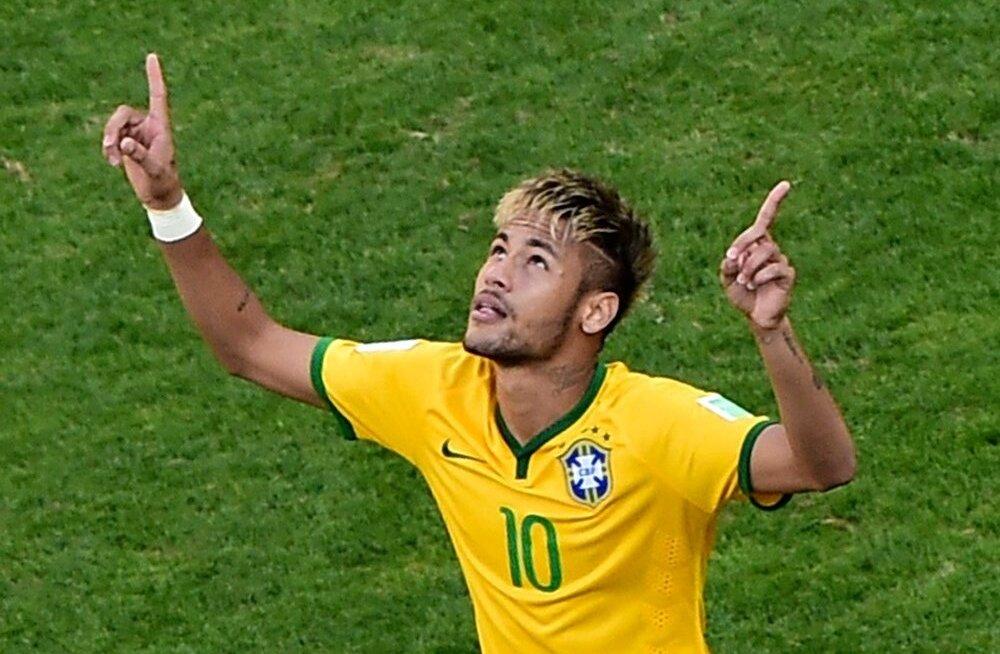 Jalgpalli MM-i kaheksandikfinaal Brasiilia-Tšiili