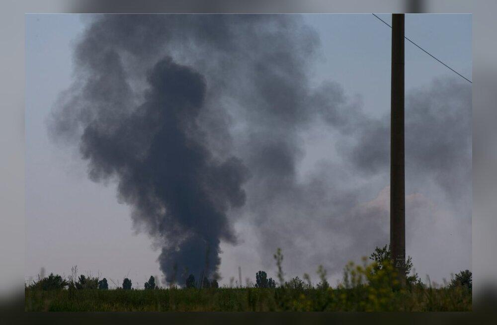VIDEO: Slovjanskis tulistati alla Ukraina helikopter, hukkus 14 sõjaväelast