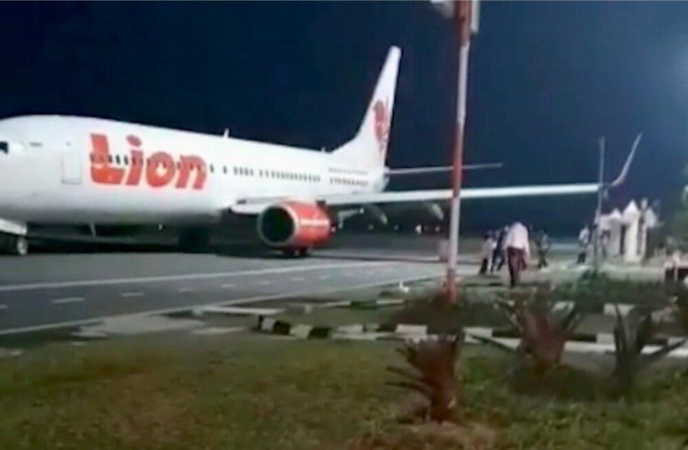 Raport: Indoneesias alla kukkunud Lion Airi reisilennuk oleks tulnud maa peale jätta enne viimast lendu