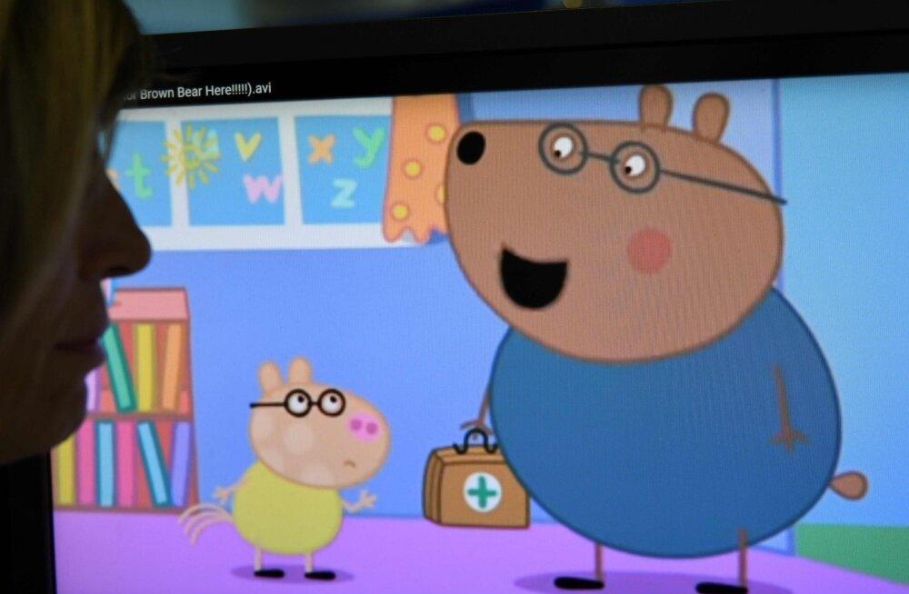 Hasbro ostab tohutu summa eest Põrsas Peppa multika tootja