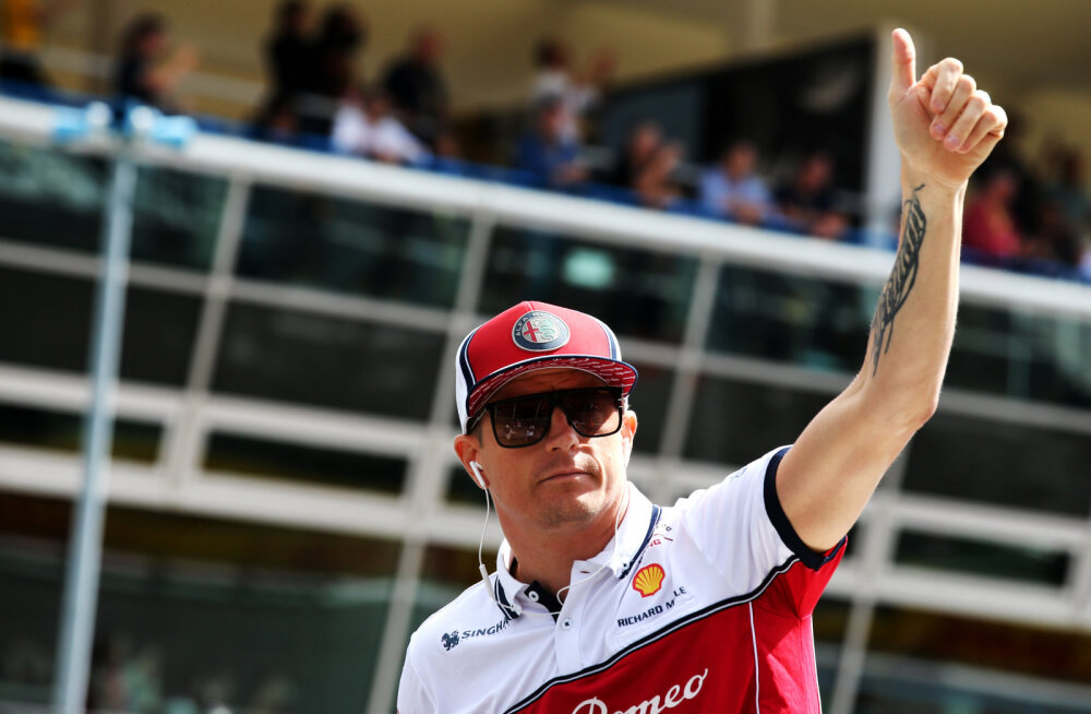 Kimi Räikkönen tõuseb pühapäeval Michael Schumacheri kõrvale