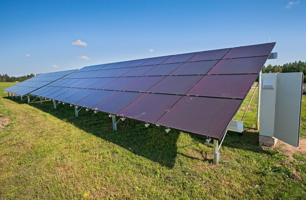 Eesti Energia uus äriplaan? Toota erafirmadele päikeseelektrijaamasid