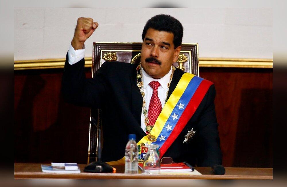 Venezuela president küsis parlamendilt erivolitusi dekreetide abil valitsemiseks