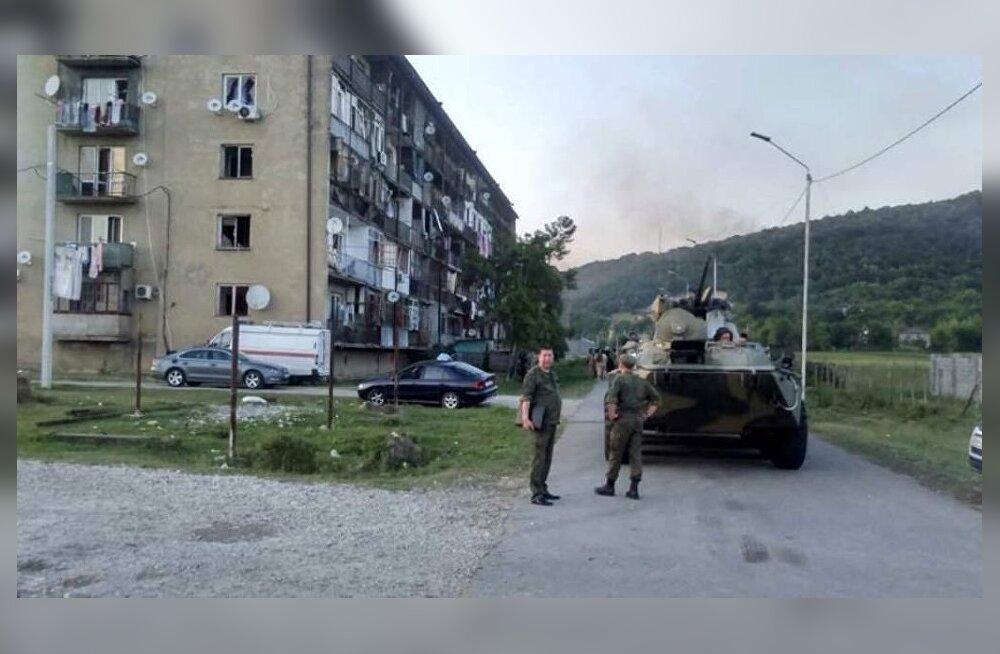В Абхазии произошел взрыв на складе боеприпасов: двое погибших, до 60 пострадавших