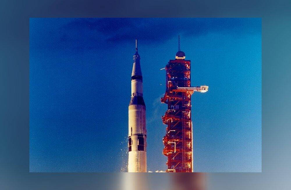 Täna 50 aastat tagasi tegi esimese stardi raskeim, kõrgeim ja võimsaim rakett seni - Saturn V