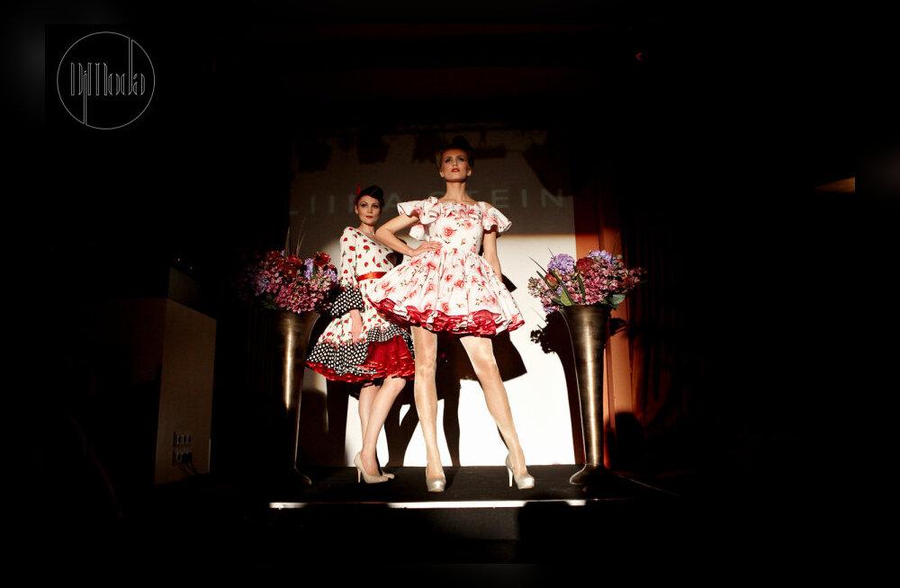 ФОТО и ВИДЕО: Pin-up красотки в платьях от LIINA STEIN блистали на мероприятии DiModa