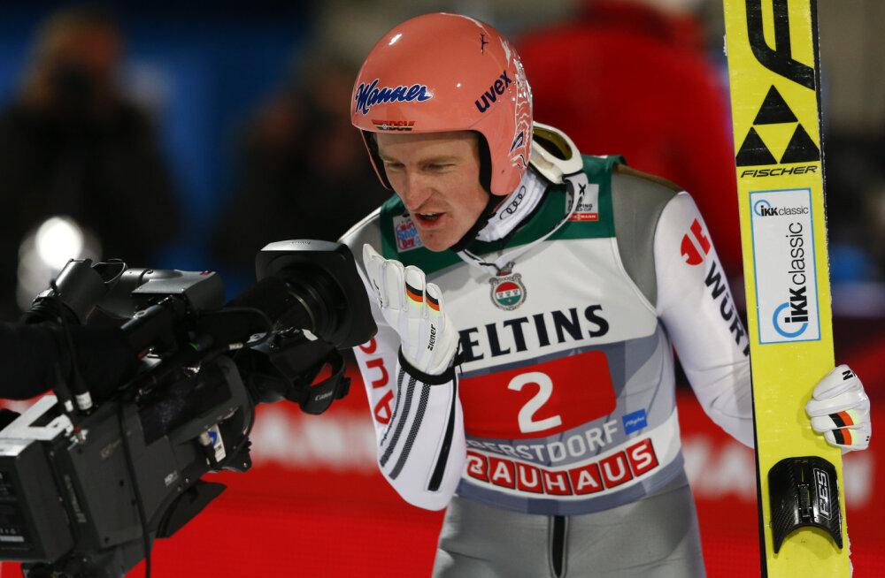 Nelja hüppemäe turnee avaetapi võitis Freund, Schlierenzauer põrus