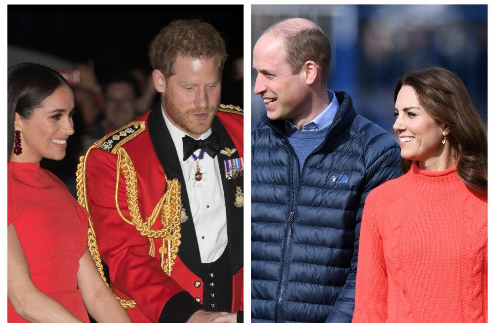 VIDEO | Üks pilk ütleb rohkem kui tuhat sõna! Meghan Markle'i ja Kate Middletoni taaskohtumine oli kentsakalt piinlik