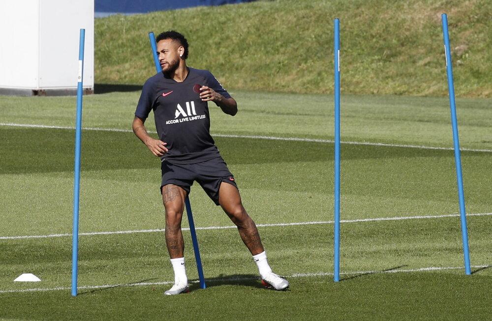 Neymar PSG treeningul