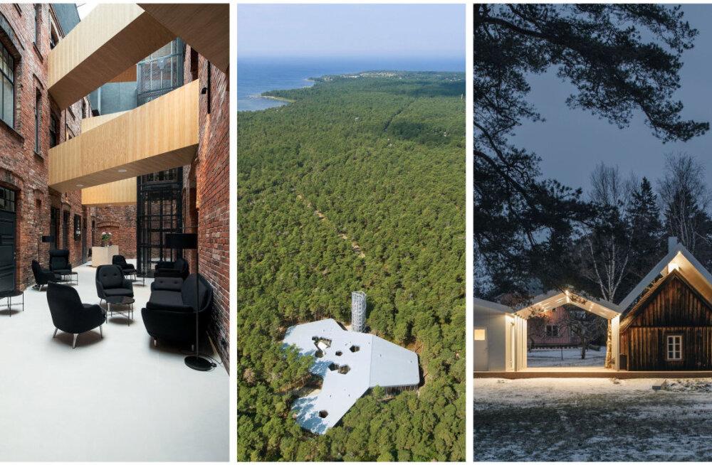 ФОТО   В Тарту вручили архитектурные премии 2019 года. Смотрите, кому присудили победу читатели Delfi!