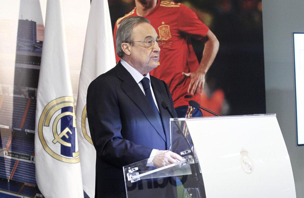 """Madridi Reali president lubas, et klubi soetab suvel """"briljantseid"""" mängijaid"""