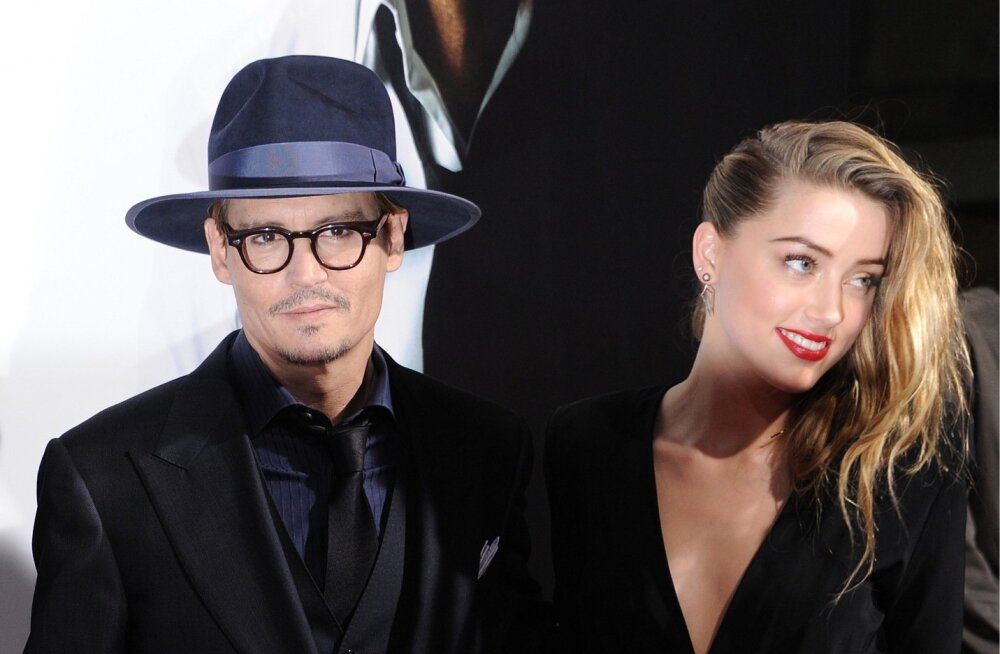 Johnny Depp ja Amber Heard