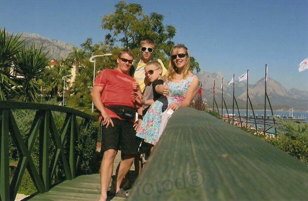 Käoside pere reis Türki 2012. aastal