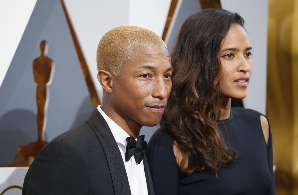 PALJU ÕNNE! Laulja ja muusikaprodutsent Pharrell Williams sai kolmikute isaks