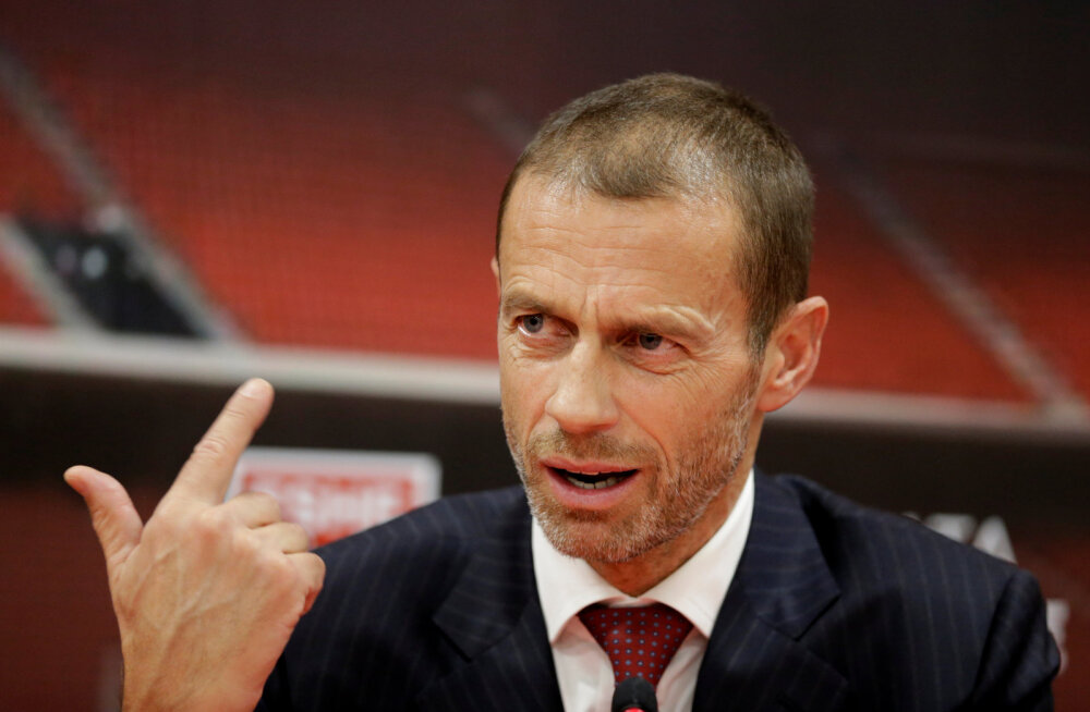 Pahane UEFA president: VAR on loonud olukorra, kus pika ninaga mängijad on suluseisus