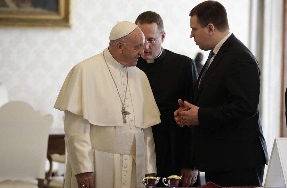 Ratas kohtumas Paavstiga
