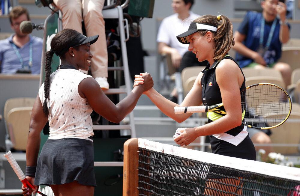 Eelmise aasta French Openi finalist langes tänavu konkurentsist veerandfinaalis