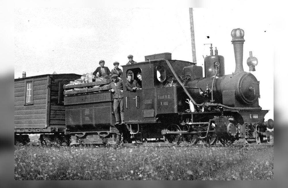 Rong see sõitis: kitsarööpmeliste militaarraudteede ajaloost
