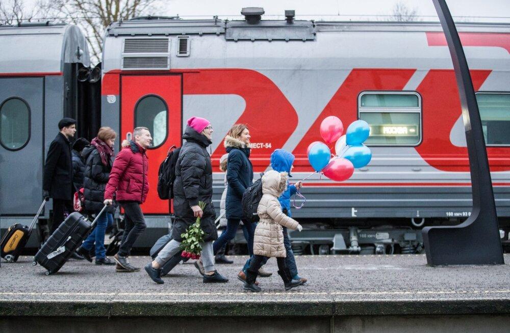 Поезд Таллинн - Москва попал в список лучших ночных поездов Европы