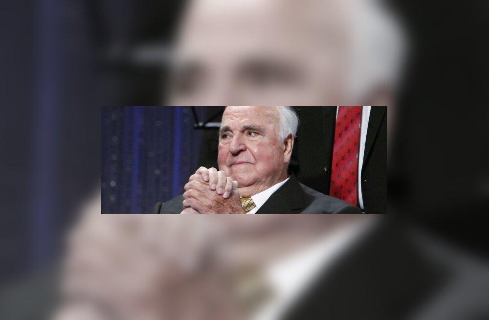 Helmut Kohl keeldus Saksa taasühinemise peost