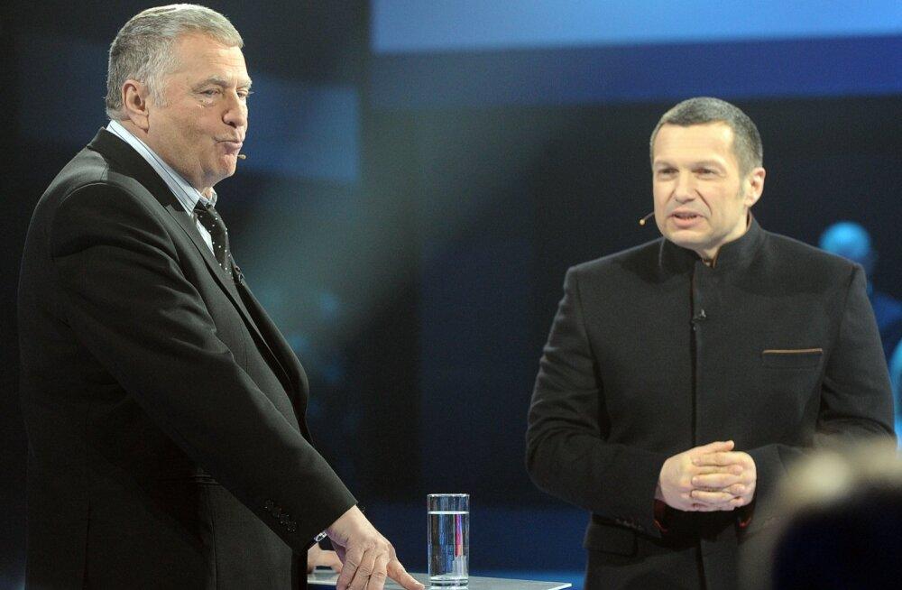 Läti keelas kolmeks kuuks Vene telekanali Rossija RTR edastamise