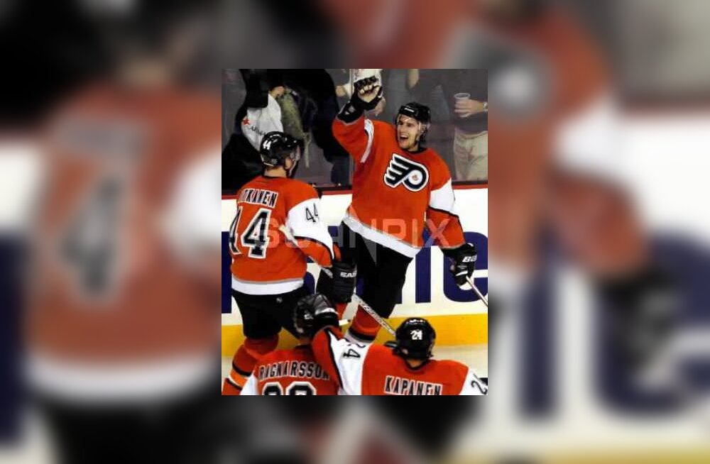 Simon Gagne, Philadelphia Flyers, NHL