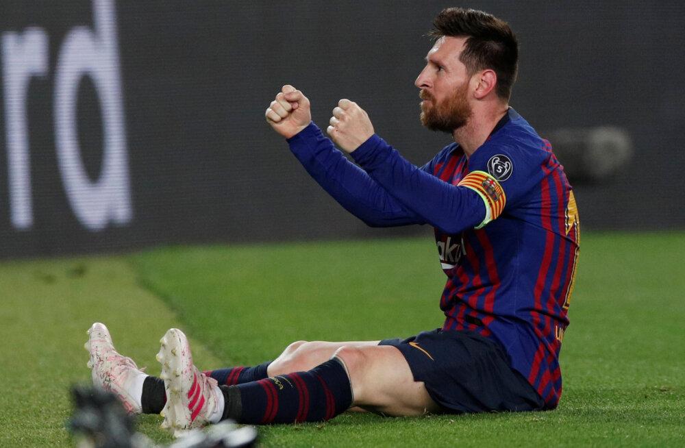BLOGI | Lionel Messi suurepärane karistuslöök Liverpooli vastu viis Barcelona ühe jalaga Meistrite Liiga finaali