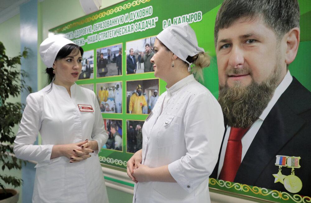 Tšetšeenia juht Kadõrov nõudis kaitsevahendite puuduse üle kurtnud meedikute vallandamist