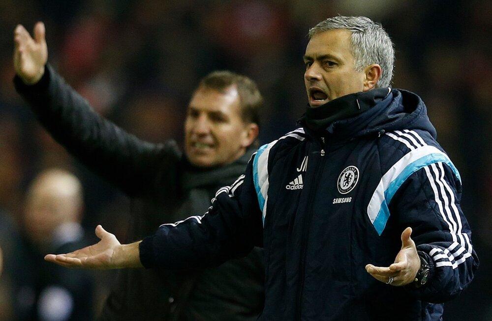Brendan Rodgers, Jose Mourinho