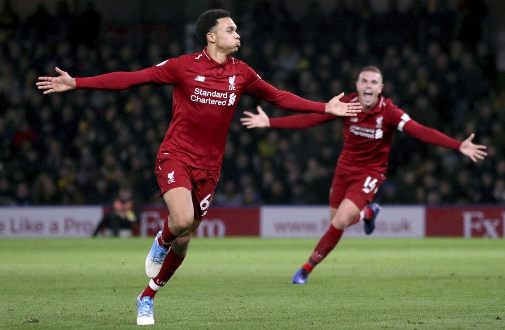 VIDEO | Liverpooli mees virutas sisse ilusa karistuslöögi, Manchester United jäi taas võiduta