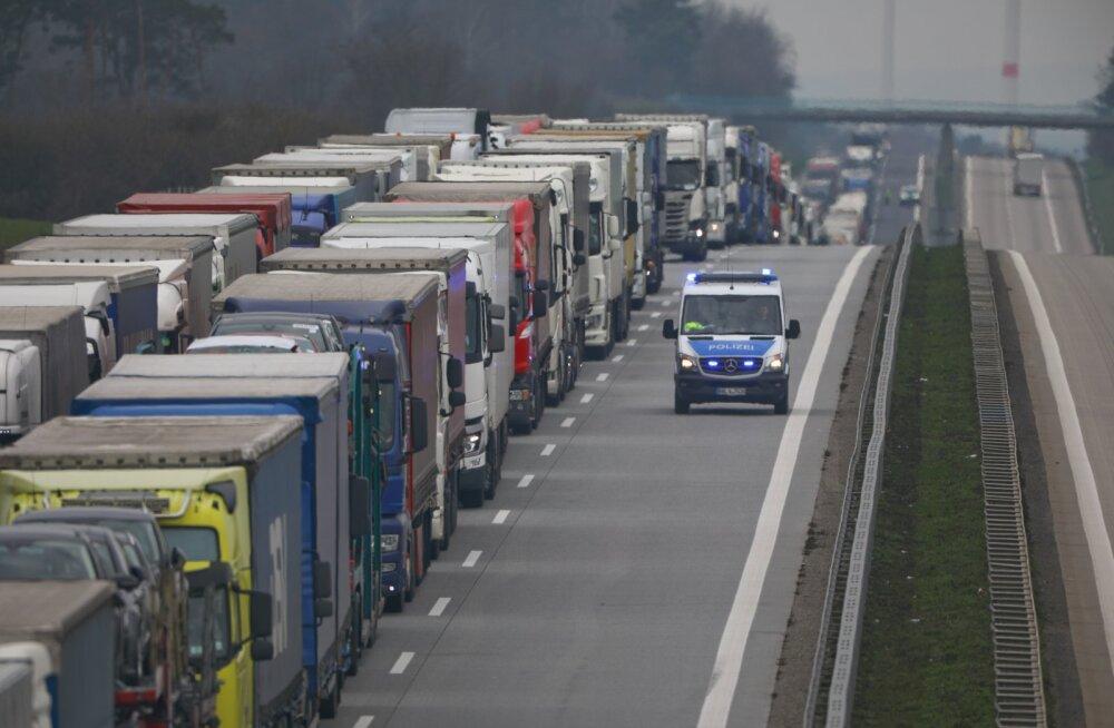 Rekad Saksamaa ja Poola piiril.