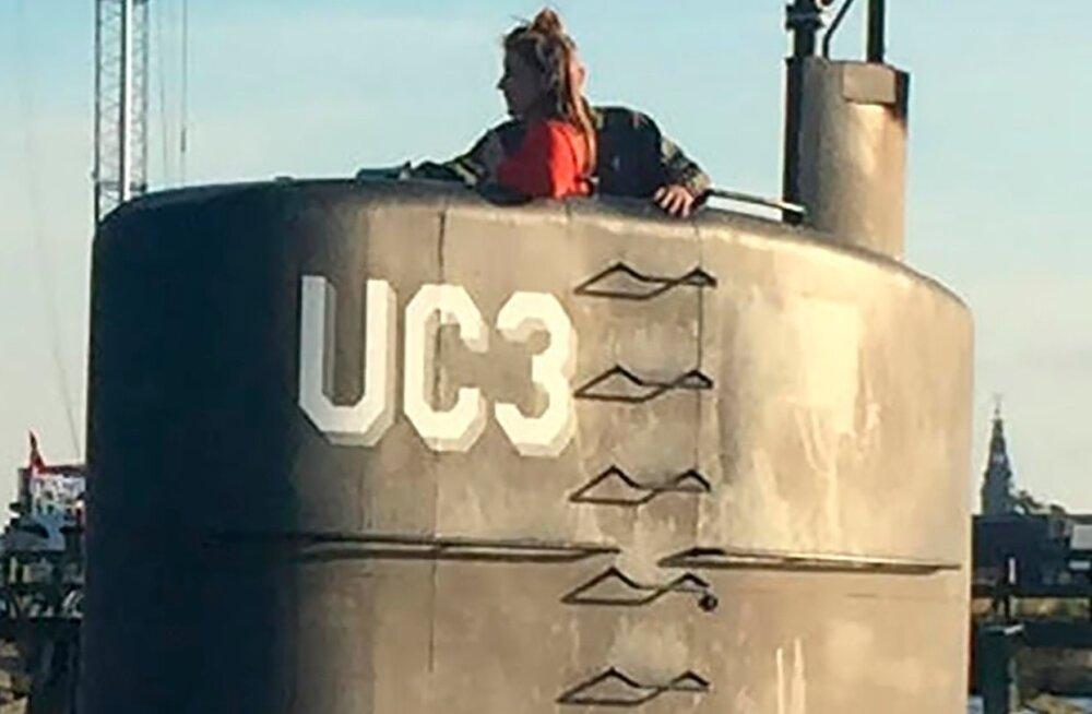Kim Wall allveelaevareisi alustamas