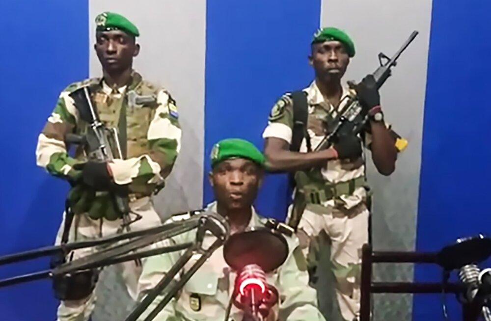 Gabonis teatasid sõjaväelased võimuhaaramisest, valitsuse teatel on olukord kontrolli all