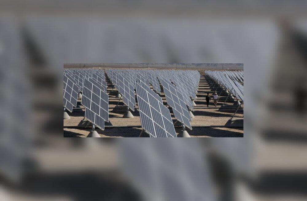 Hiina ehitab maailma suurima päikeseenergiapargi